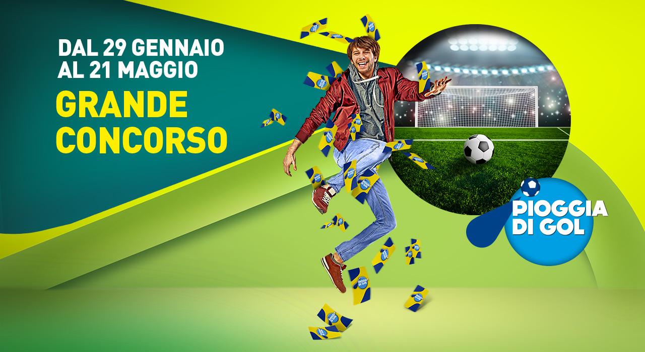 Pioggia di Gol : un nuovo grande concorso al Centro Commerciale I Petali di Reggio Emilia